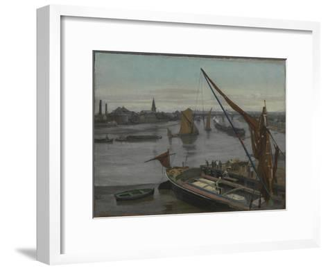 Battersea Reach-Walter Greaves-Framed Art Print