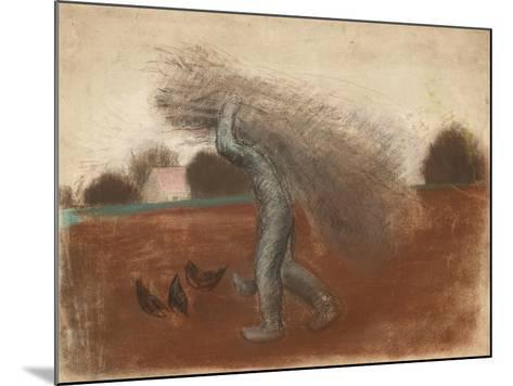 Peasant with a Bundle of Sticks-Julio González-Mounted Giclee Print