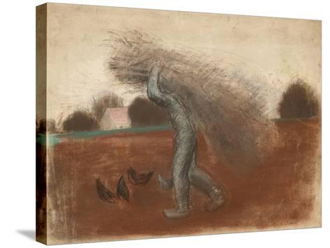 Peasant with a Bundle of Sticks-Julio González-Stretched Canvas Print