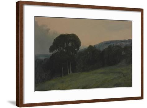 Wooded Landscape-Sir Charles Holroyd-Framed Art Print