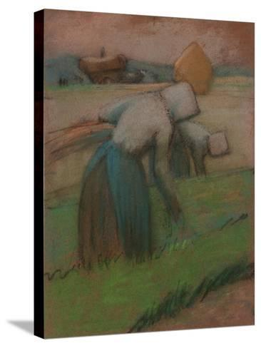 Work in the Fields-Julio González-Stretched Canvas Print
