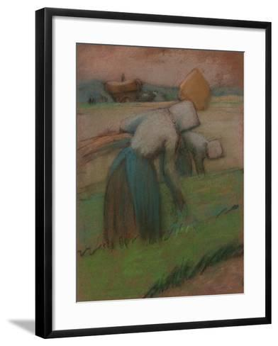 Work in the Fields-Julio González-Framed Art Print