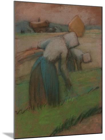 Work in the Fields-Julio González-Mounted Giclee Print