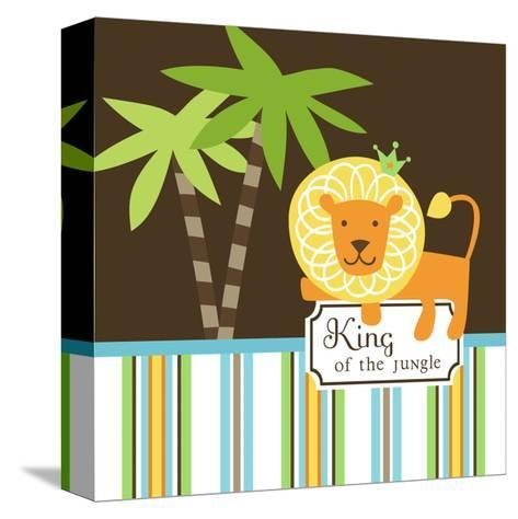 King of the Jungle--Stretched Canvas Print
