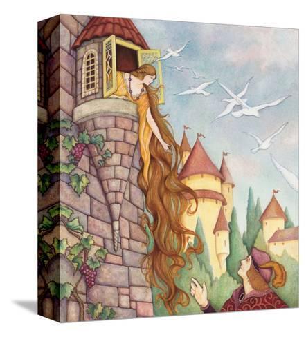 Rapunzel Fairy Tale--Stretched Canvas Print