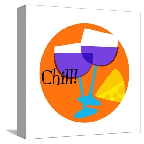 Chill--Stretched Canvas Print