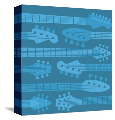 Musical Instruments--Stretched Canvas Print