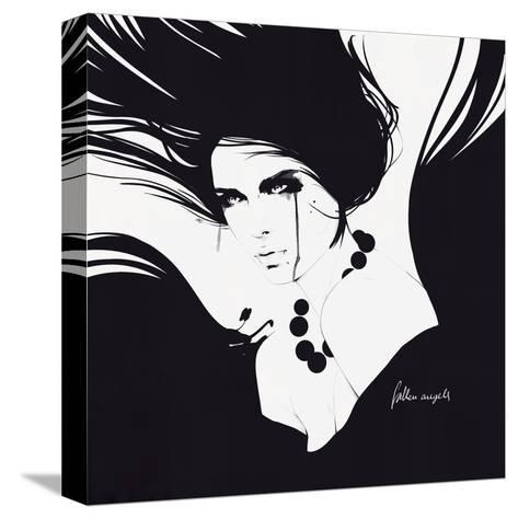 Angels I-Manuel Rebollo-Stretched Canvas Print