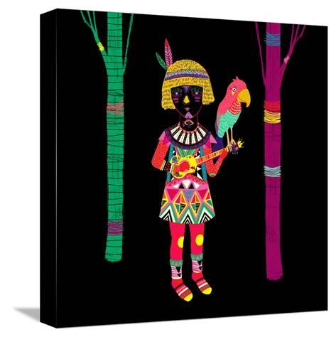 I Don't Have Any Title-Diela Maharanie-Stretched Canvas Print