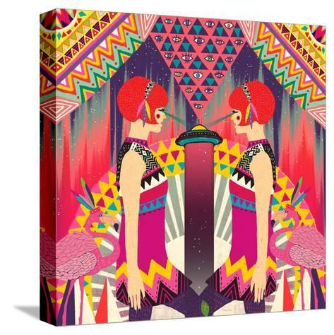II-Diela Maharanie-Stretched Canvas Print
