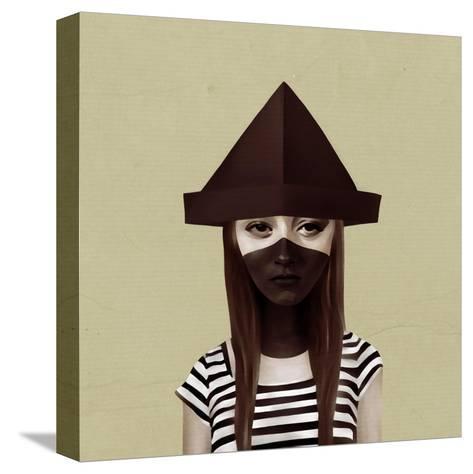 Ceci N'Est Pas Un Chapeau-Ruben Ireland-Stretched Canvas Print