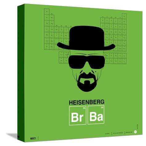 Heisenberg Poster-NaxArt-Stretched Canvas Print