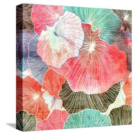 Abstract Bright Colorful Background-tanor27-Stretched Canvas Print