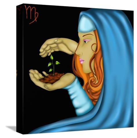 Segni Zodiacali - Vergine-goccedicolore-Stretched Canvas Print