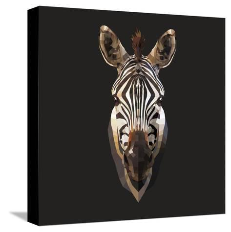 Zebra-Lora Kroll-Stretched Canvas Print