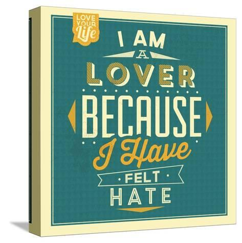 I'm a Lover-Lorand Okos-Stretched Canvas Print