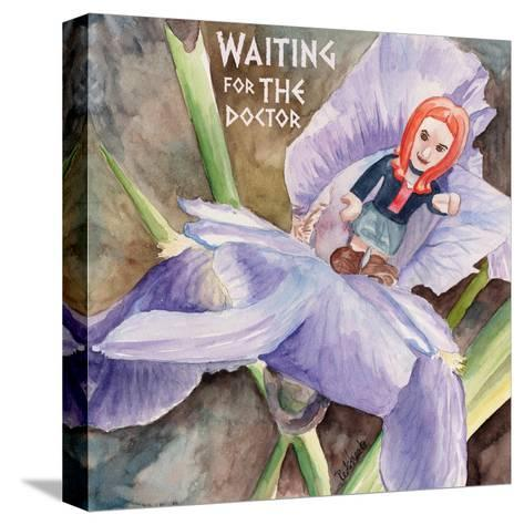 Waiting for the Doctor 2-Jennifer Redstreake Geary-Stretched Canvas Print