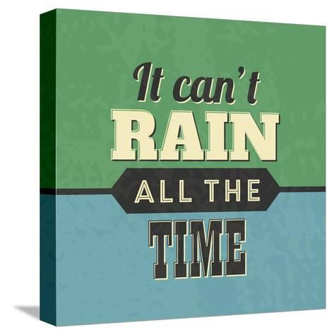 It Can't Rain All the Time-Lorand Okos-Stretched Canvas Print