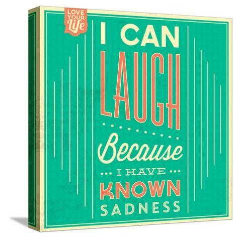 I Can Laugh-Lorand Okos-Stretched Canvas Print