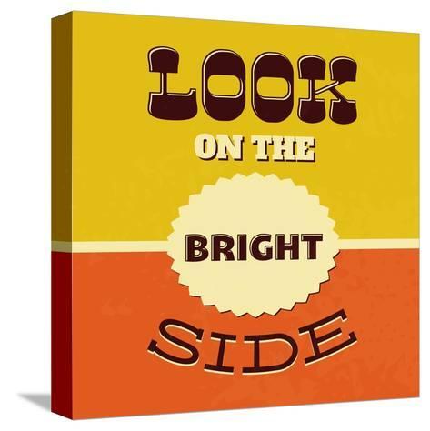 Look on the Bright Side-Lorand Okos-Stretched Canvas Print