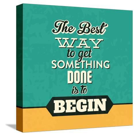 Get Something Done-Lorand Okos-Stretched Canvas Print