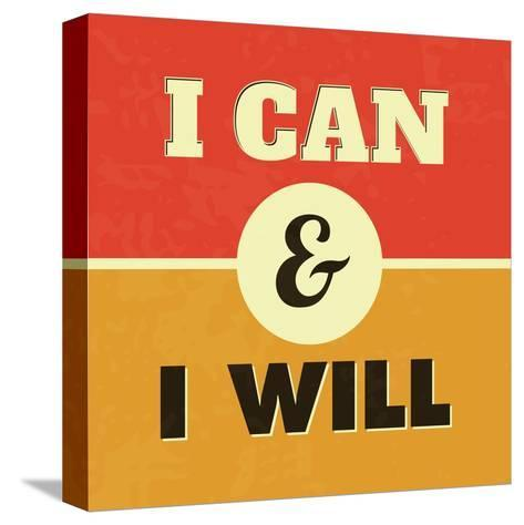I Can and I Will-Lorand Okos-Stretched Canvas Print