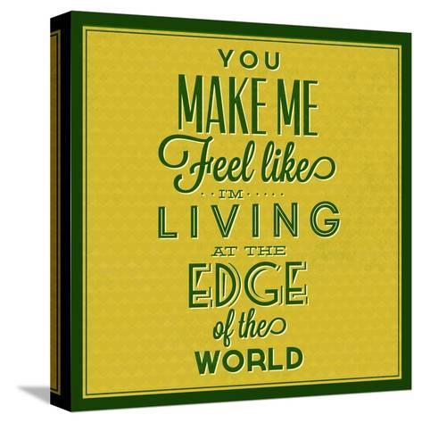 Living at the Edge 1-Lorand Okos-Stretched Canvas Print