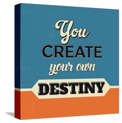 You Create Your Own Destiny-Lorand Okos-Stretched Canvas Print