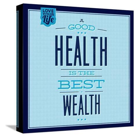 Health Is the Best Wealth 1-Lorand Okos-Stretched Canvas Print