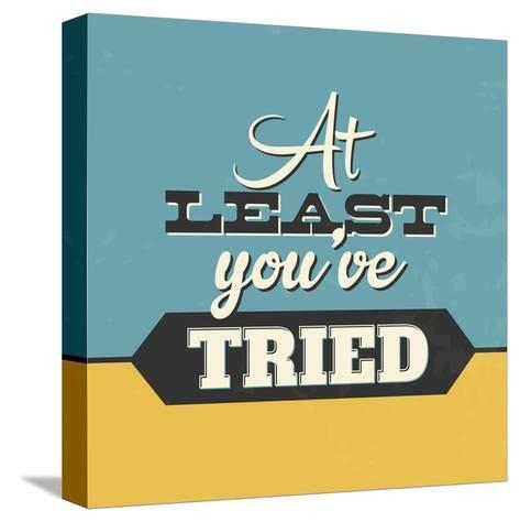 At Least You've Tried-Lorand Okos-Stretched Canvas Print