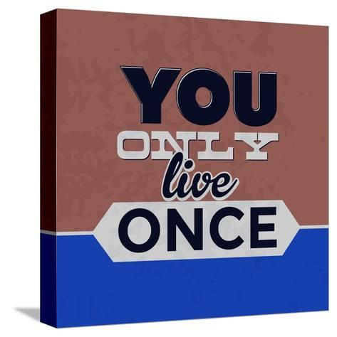 You Only Live Once 1-Lorand Okos-Stretched Canvas Print