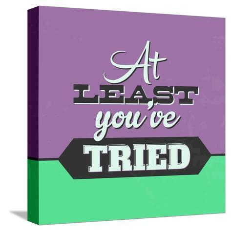 At Least You've Tried 1-Lorand Okos-Stretched Canvas Print