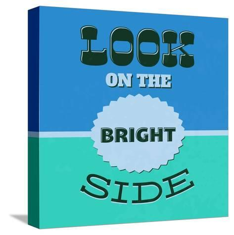 Look on the Bright Side 1-Lorand Okos-Stretched Canvas Print