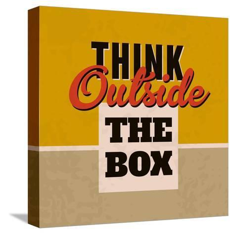 Think Outside the Box 1-Lorand Okos-Stretched Canvas Print