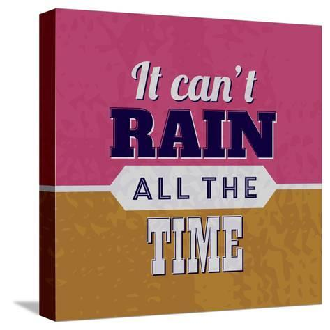 It Can't Rain All the Time 1-Lorand Okos-Stretched Canvas Print