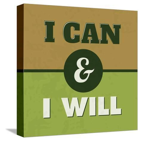 I Can and I Will 1-Lorand Okos-Stretched Canvas Print