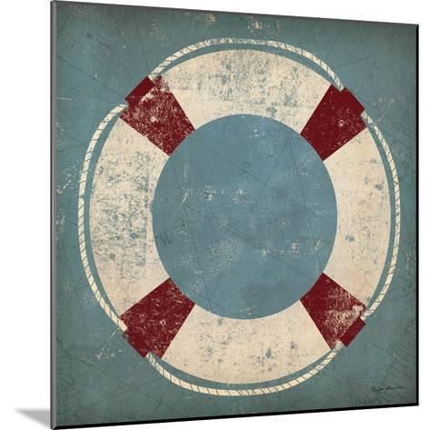 Nautical Buoy Blue-Ryan Fowler-Mounted Art Print