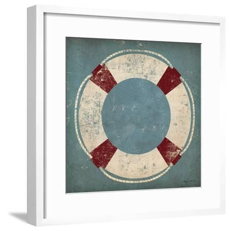Nautical Buoy Blue-Ryan Fowler-Framed Art Print