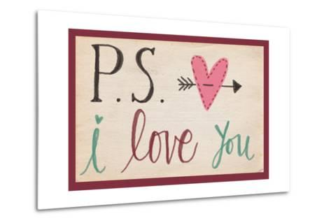 P.S. I Love You-Katie Doucette-Metal Print