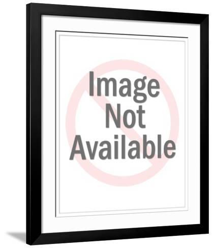 No Evil Monkeys--Framed Art Print