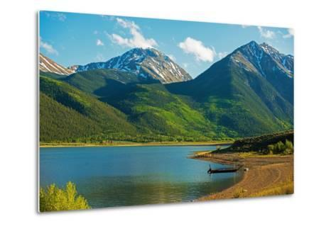Colorado Twin Lakes-duallogic-Metal Print