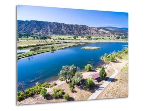 Colorado River-urbanlight-Metal Print