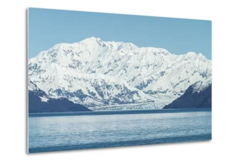 Hubbard Glacier in Yakutat Bay, Alaska.-jirivondrous-Metal Print