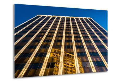 Evening Light on the Pnc Bank Building in Downtown Wilmington, Delaware.-Jon Bilous-Metal Print