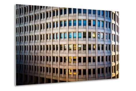 Architectural Details of the Brandywine Building Taken in Downtown Wilmington, Delaware.-Jon Bilous-Metal Print