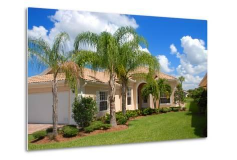 Florida Home-Yarex-Metal Print