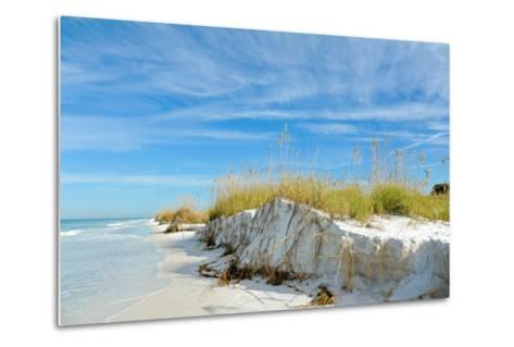 Beautiful Florida Coastline-EyeMark-Metal Print