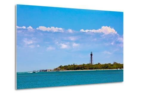 Sanibel Lighthouse and Pier-KennethKeifer-Metal Print