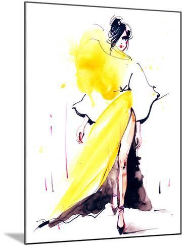 Fashion-okalinichenko-Mounted Art Print