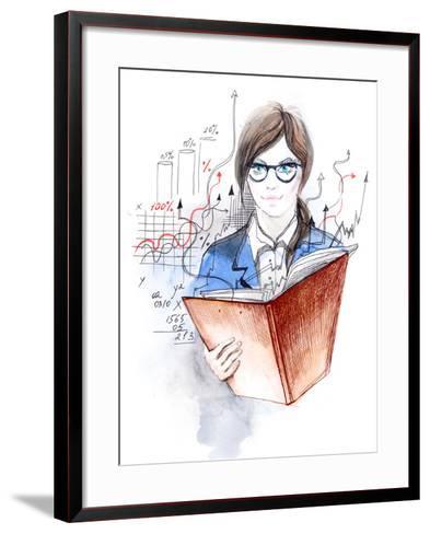 Student-okalinichenko-Framed Art Print